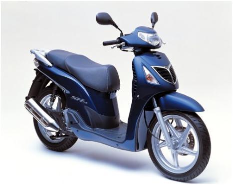Honda SH 125CC - Road Runner Scooter Rent