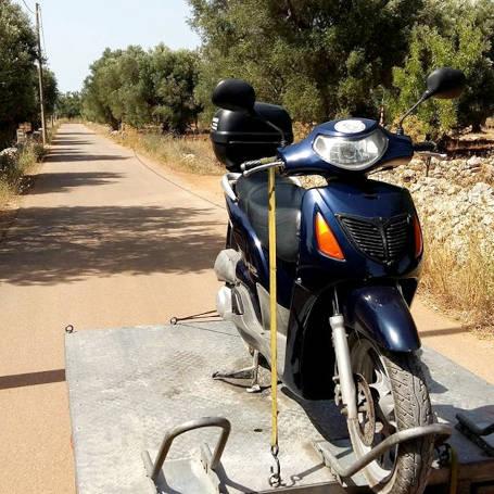 Consegna e ritiro - Road Runner Scooter Rent