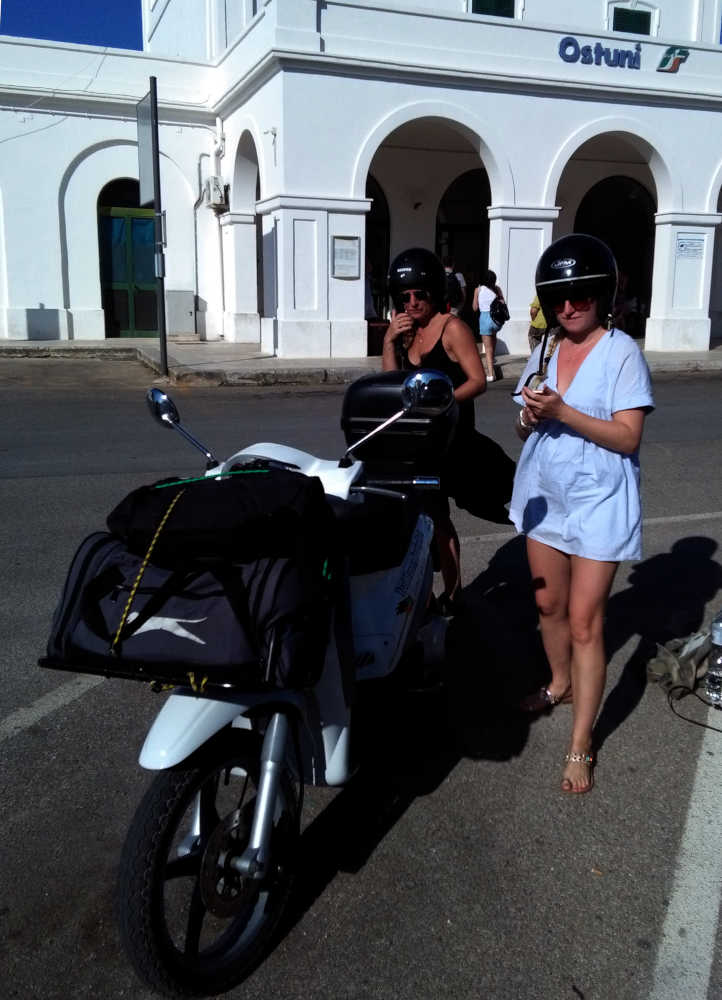 Portabagagli - Road Runner Scooter Rent
