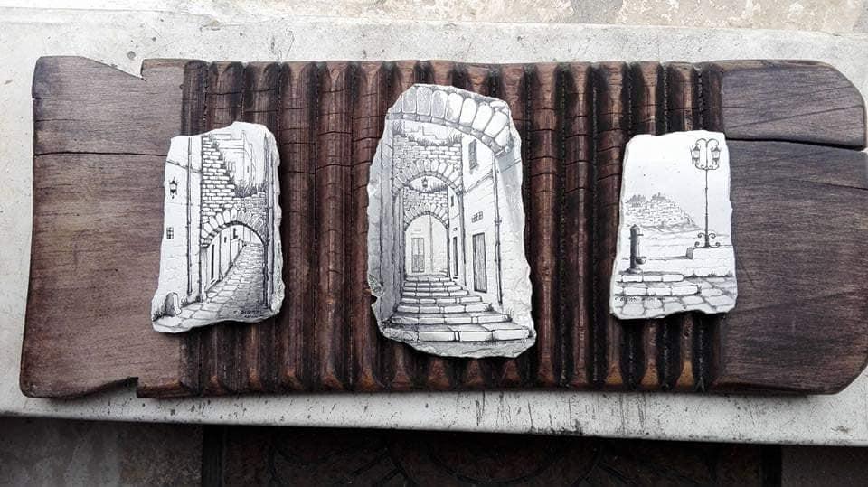 Bottega d'Arte di Croci Sisinni - Ostuni sulla Pietra - Road Runner Scooter Rent