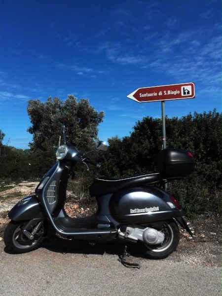 Santuario di San Biagio - Ostuni - Road Runner Scooter Rent