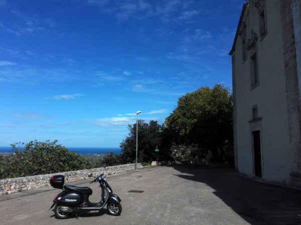 Santuario di Sant'Oronzo - Ostuni - Road Runner Scooter Rent